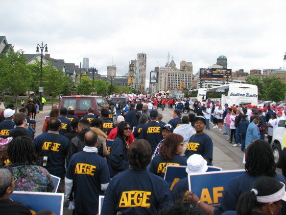 AFGE Members at Labor Day Parade
