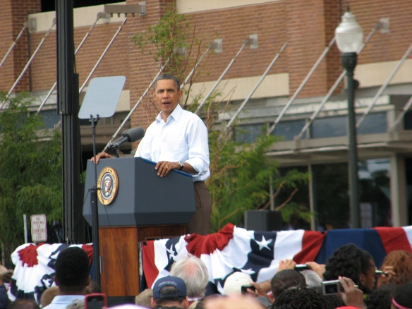 President Obama's remarks at Labor Day Parade