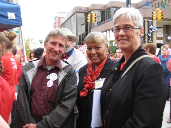 State and local labor leaders supporting University of Michigan Nurses