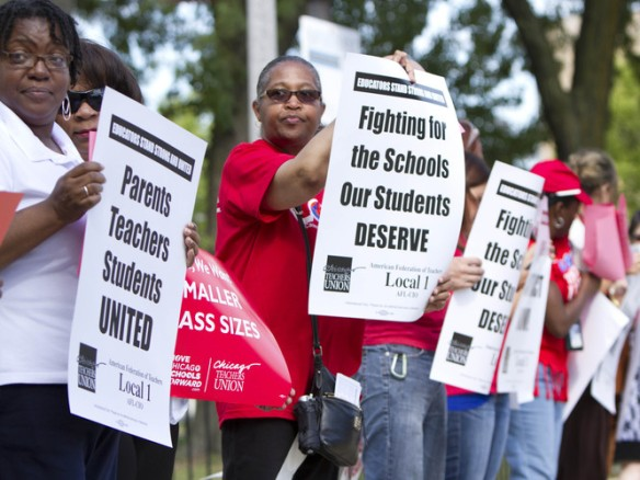 Chicago Teachers in the 2012 CTU Strike